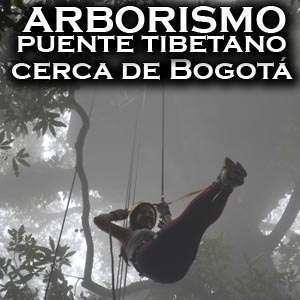 Arborimo y Puentes colgantes Cundinamarca - Puente Tibetano Bogota