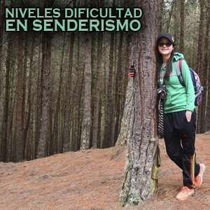 Clasificación y niveles dificultad en Caminatas Ecológicas